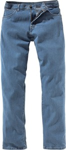 Jeansy Wrangler z jeansu