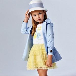 Żółta spódniczka dziewczęca Mayoral
