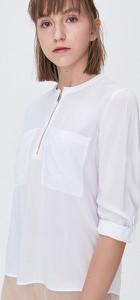 Bluzka Sinsay z okrągłym dekoltem