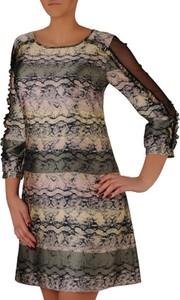 27b4ad6de4 długie sukienki dzianinowe - stylowo i modnie z Allani