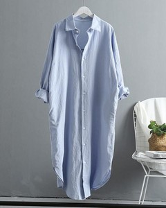 Niebieska koszula Kendallme z długim rękawem