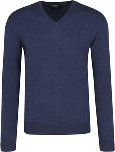 Sweter Hackett London z jedwabiu
