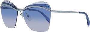 Niebieskie okulary damskie Emilio Pucci