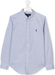 Niebieska koszula dziecięca Ralph Lauren