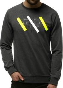 Bluza producent niezdefiniowany z bawełny z nadrukiem