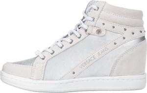 Versace Jeans Tenisówki 36 Szary Srebrny