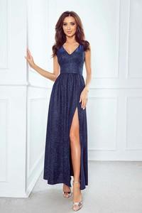 Niebieska sukienka Imesia maxi