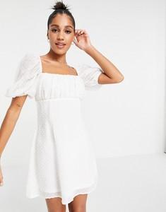 Sukienka Missguided mini z żakardu w stylu casual