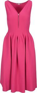 Różowa sukienka Stella McCartney bez rękawów