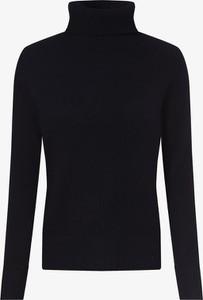Granatowy sweter Franco Callegari w stylu casual