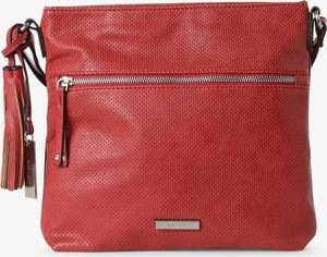 Czerwona torebka Suri Frey ze skóry na ramię średnia