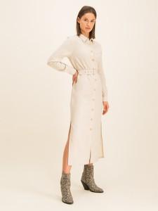 Sukienka Pepe Jeans koszulowa w stylu casual z długim rękawem
