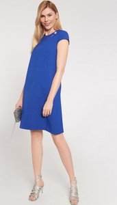 Sukienka QUIOSQUE z krótkim rękawem mini