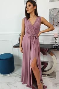 Różowa sukienka fashion-freak.pl maxi