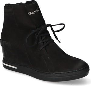 Sneakersy Carinii na zamek