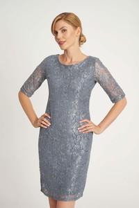 Sukienka QUIOSQUE z długim rękawem mini