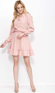 Sukienka Makadamia mini w stylu vintage rozkloszowana