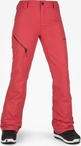 Różowe spodnie sportowe Volcom