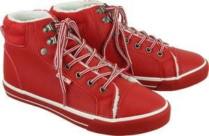 Czerwone trampki Big Star w młodzieżowym stylu