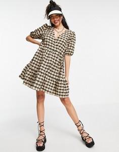 Sukienka New Look mini z krótkim rękawem baskinka