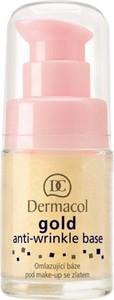 Dermacol Gold Anti-wrinkle Base | Odmładzająca baza pod makijaż ze złotem 15ml - Wysyłka w 24H!