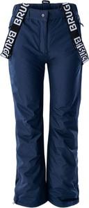 Granatowe spodnie Brugi
