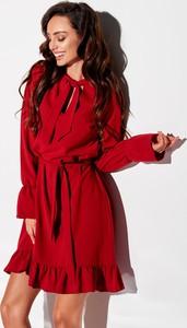 Czerwona sukienka N/A mini