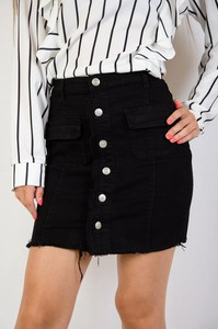 Spódnica Olika w street stylu z jeansu