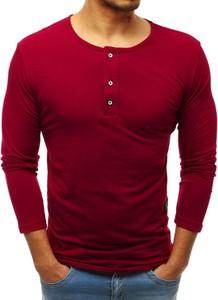 Koszulka z długim rękawem Dstreet z bawełny z długim rękawem w stylu casual