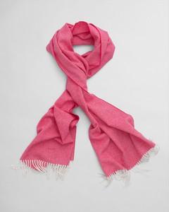 Różowy szal męski Gant