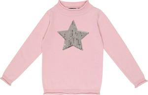 Różowy sweter Blue Seven z dzianiny