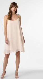 Różowa sukienka NA-KD mini na ramiączkach