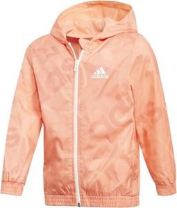 Różowa kurtka dziecięca ctxsport z tkaniny