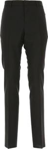 Czarne spodnie Valentino
