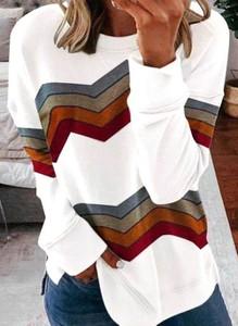 Bluzka Cikelly w stylu casual z okrągłym dekoltem