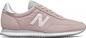 Buty sportowe New Balance z płaską podeszwą z zamszu sznurowane