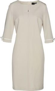 Sukienka bonprix bpc selection mini z długim rękawem