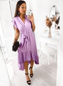 Sukienka Pakuten z krótkim rękawem midi