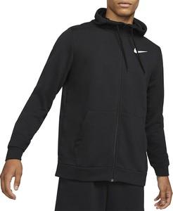 Czarna bluza Nike w sportowym stylu z bawełny