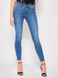 Granatowe jeansy Lee