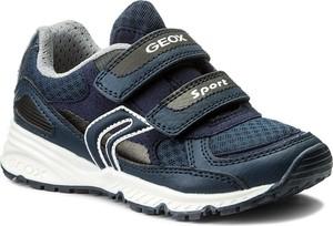 Granatowe buty sportowe dziecięce geox