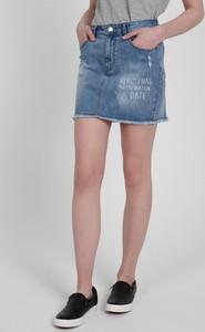 Spódnica Gate mini z bawełny