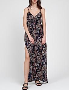 Sukienka Gate z dekoltem w kształcie litery v maxi w stylu casual