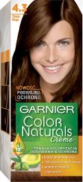 Garnier, Color Naturals, farba do włosów, 4.3 złoty brąz