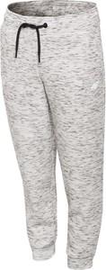 4f junior spodnie sportowe dla dużych dziewcząt jspdtr401 - ciepły jasny szary - 4f