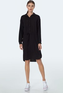 Czarna sukienka Nife