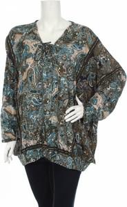 Bluzka Cecil z długim rękawem ze sznurowanym dekoltem