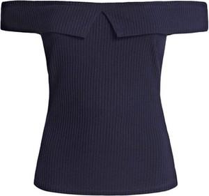 Bluzka Guess z krótkim rękawem z okrągłym dekoltem