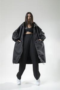 Płaszcz REST FACTORY z tkaniny w stylu casual