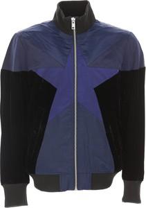 Granatowa kurtka Diesel z bawełny w stylu casual